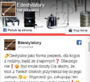 Facebook e-destylatory.pl